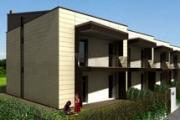 """Edificio classe """"A"""" Casa Clima a Casalgrande"""